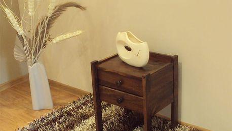 Noční stolek Kaja ořech