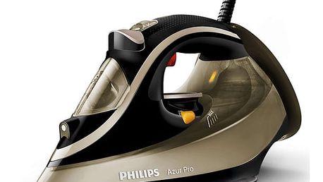 Žehlička Philips Azur Pro GC4887/00 hnědá