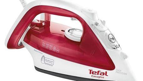 Žehlička Tefal Easygliss FV3922E0 červená + Doprava zdarma