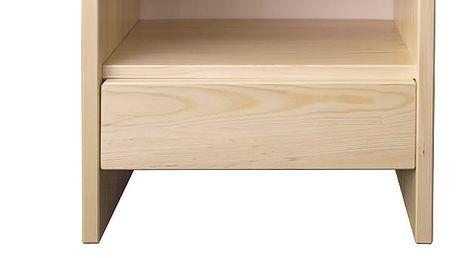 Noční stolek SN121 masiv dub