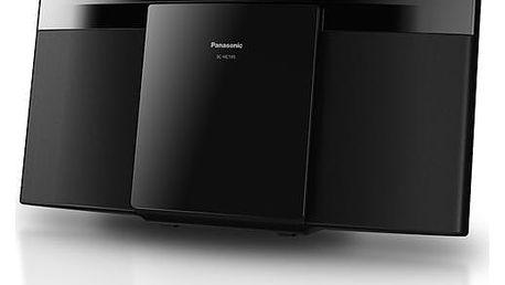 Mikrosystém Panasonic SC-HC195EG-K černý + dárek Sluchátka Panasonic RP-HF100ME-K černá + DOPRAVA ZDARMA
