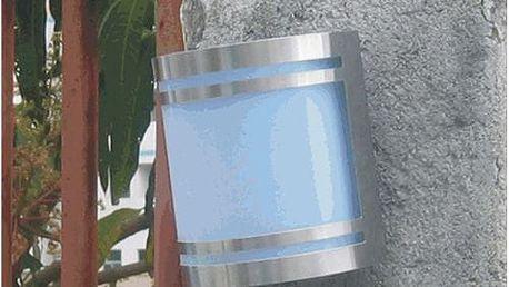 Tuin Garth 1524 Solární zahradní nástěnné LED svítidlo z nerez oceli