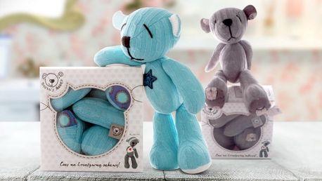 Medvídek Boskas: Sešijte si s dětmi hračku