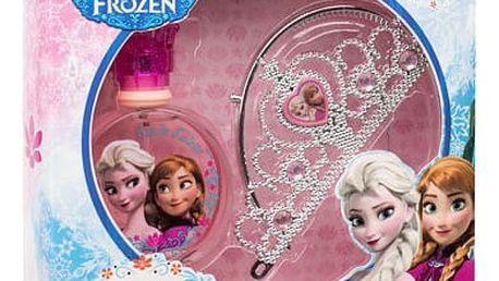 Disney Frozen EDT dárková sada U - EDT 100 ml + korunka