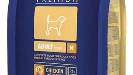 Granule Brit Premium Dog Adult M 8 kg + Doprava zdarma