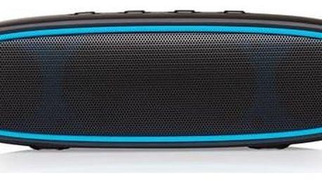 Přenosný reproduktor Niceboy SOUNDtube (sound-tube) černé Sluchátka Niceboy HIVE Earbuds - černá (zdarma) + Doprava zdarma