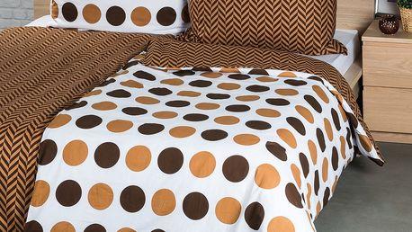 4Home Bavlněné povlečení Kiko, 140 x 220 cm, 70 x 90 cm