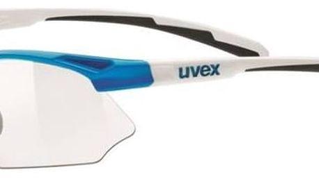 Cyklistické brýle Uvex Sportstyle 802 Vario - blue/white + Doprava zdarma
