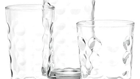 Sada sklenic cora, 18- dílná