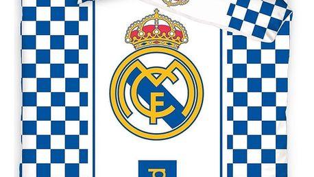 Tip Trade povlečení Real Madrid Check, 140 x 200 cm, 70 x 80 cm
