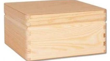 Dřevěná truhlička GD260 borovice