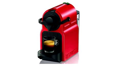 Espresso Krups Nespresso Inissia XN1005 červené + Doprava zdarma