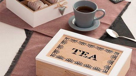 Vintage Krabička na Čaj Tea