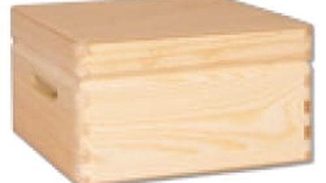 Dřevěná truhlička GD265 borovice