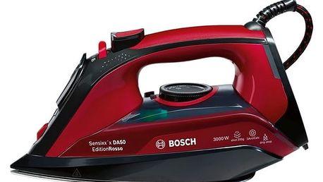 Žehlička Bosch TDA503001P černá/červená