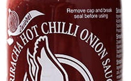 Chilli omáčka Sriracha hot s cibulí 455 ml