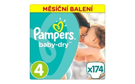 Plenky Pampers Active Baby Monthy Box S4 174 ks + Doprava zdarma
