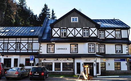 Hotel Lomnice, Špindlerův Mlýn - save 14%, Pohodový pobyt v centru Špindlerova Mlýna s polopenzí