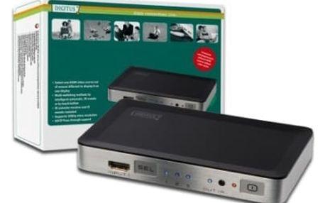 Video splitter Digitus HDMI přepínač 3 -> 1 (DS-44300)