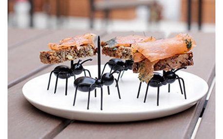 Napichovátka na jednohubky Mravenci 12 ks
