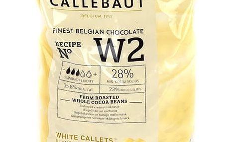 Bílá čokoláda Callebaut 28 % 1 kg