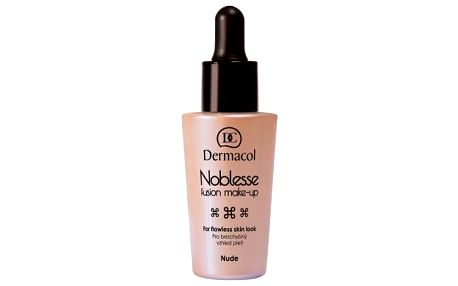 Dermacol Noblesse Fusion Make-Up SPF10 25 ml makeup pro ženy Nude