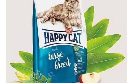 Granule HAPPY CAT ADULT Large Breed - Velká plemena 10 kg + Doprava zdarma