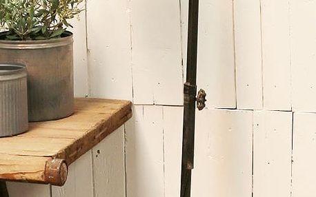Chic Antique Lampa Factory antique black, černá barva, kov