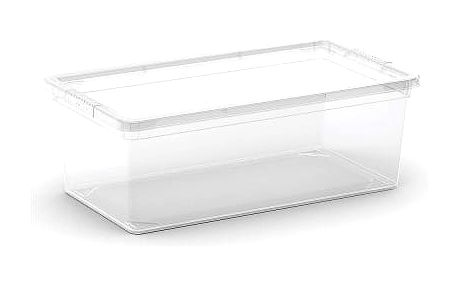 Plastový úložný box C-Box Transparent XS, 6 L
