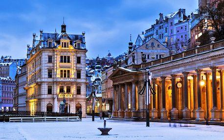 Romantika v Karlových Varech s možným wellness