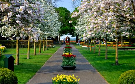 3denní výlet do Amsterdamu a květinového parku Keukenhof pro 1 os.