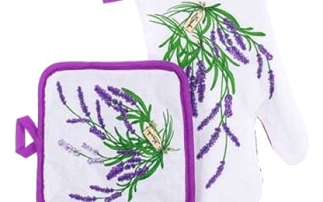 Sada kuchyňských chňapek Lavender Banquet 2 ks