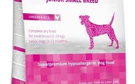 Granule Calibra Dog Hypoallergenic Junior Small Breed Chicken 7kg + Doprava zdarma