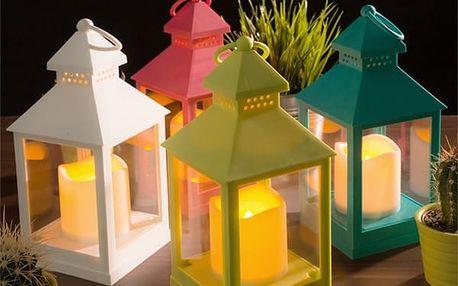 Svítilna s LED Svíčkou