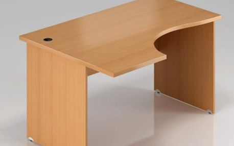 Ergonomický stůl Visio 180 x 70/100 cm, levý