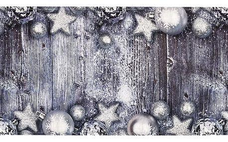 BO-MA Trading Běhoun na stůl Vánoční ozdoby, 40 x 140 cm