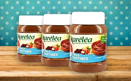 Karéléa: Oříškovo-čokoládová pomazánka bez cukru