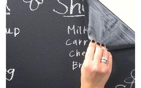 Samolepicí tabule na zeď je velice praktická pomůcka pro děti i dospělé.
