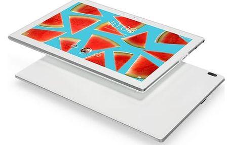 """Dotykový tablet Lenovo TAB4 10"""" LTE (ZA2K0040CZ) bílý SIM karta T-Mobile 200Kč Twist Online Internet + Software F-Secure SAFE 6 měsíců pro 3 zařízení v hodnotě 1 199 Kč + DOPRAVA ZDARMA"""