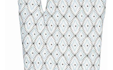 GREEN GATE Grilovací rukavice Elsa sand, šedá barva, textil