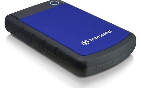 "Externí pevný disk 2,5"" Transcend 1TB (TS1TSJ25H3B) černý/modrý"