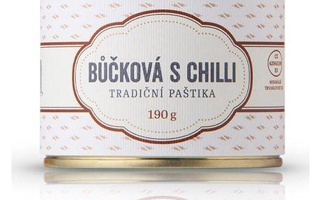Bůčková paštika s chilli Čongrády 190 g