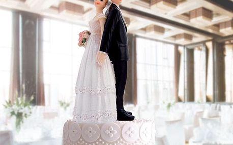 Figurky Ženicha a Nevěsty na Svatební Dort
