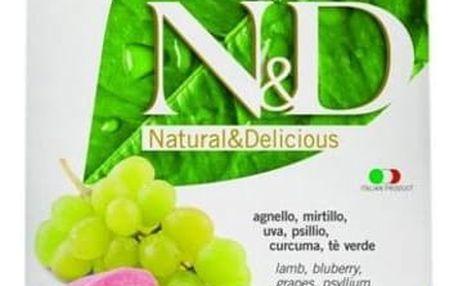 Granule N&D Grain Free CAT Adult Lamb & Blueberry 1,5 kg + Doprava zdarma
