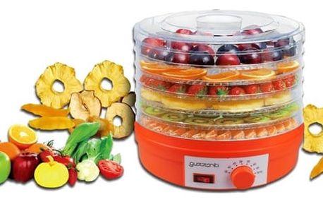 Sušička ovoce Guzzanti GZ 506 oranžová