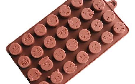 Silikonová forma na čokoládu Emoji