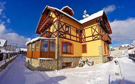 Vysoké Tatry v penzionu s polopenzí, saunou i slevou na skipasy a dalšími lákadly