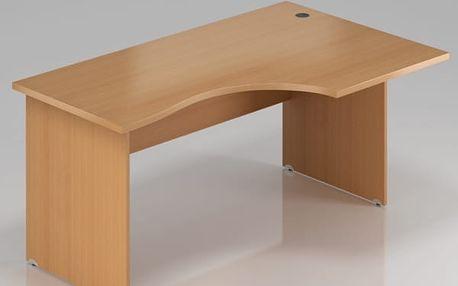 Ergonomický stůl Visio 180 x 70/100 cm, pravý
