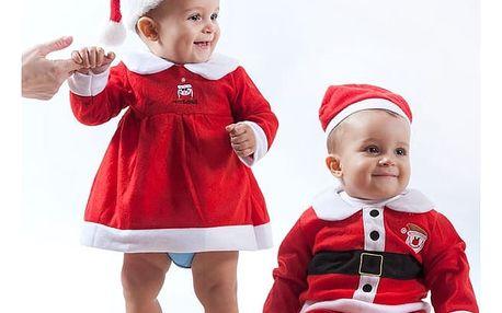 Dětský Kostým Santa Clause
