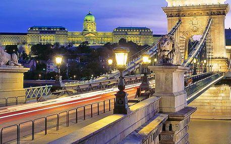 Romantická Budapešť ve 4* botelu s lahví šampaňského a snídaněmi